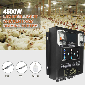 Intelligent dimming system 24hrs auto-programmable run LED light controlling system