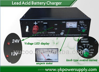 high quality power supply 12v/24vdc Automatic Lead Acid Battery Charger