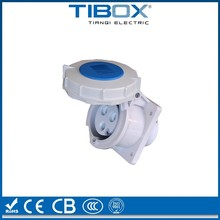 IP67 IP44 high degree ac power industrial plug and socket