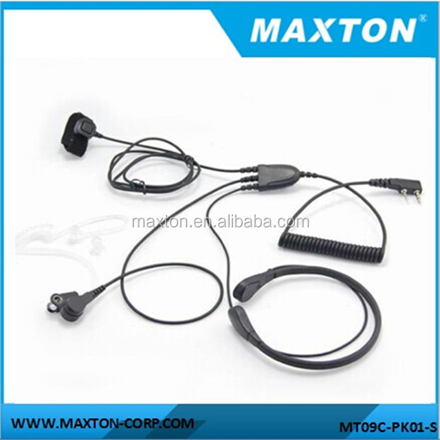 High quality Throat mic with finger PTT for Kenwood TK-255,TK260G,TK-3107,TK-3118 radios