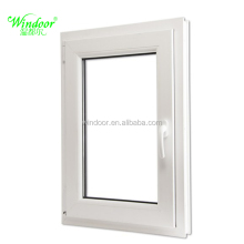 2018 New Construction Component PVC Window Tilt and Turn Window, professional factory price project pvc window