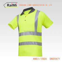 OEM manufacturer Various Color safety reflective uniform polo shirt