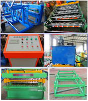 Color Steel Cold Roll Forming Machine,Hydraulic Automatic Color Steel Metal Tile Sheet Roof Steel Glazed Roll Forming Machine