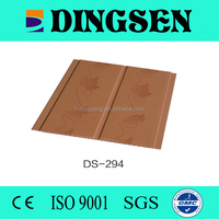 newly designed pvc ceiling tiles gypsum board decorative wall panels