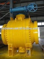 Trunnion Ball valve gear operate