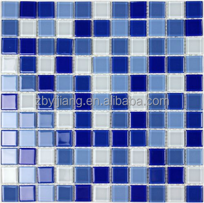 Glass Mosaic for swimming pool, crystal glass mosaic tile in various color