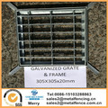 620x620x25mm Hot Dip Galvanized Steel Drainage Grate & Frame Set