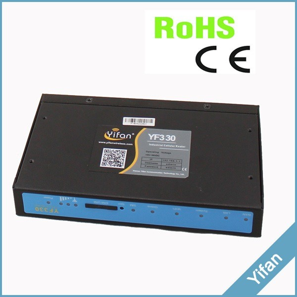 support modbus tcp RS232 RS485 ethernet port industrial VPN LTE TDD FDD 4g wifi router for DVR