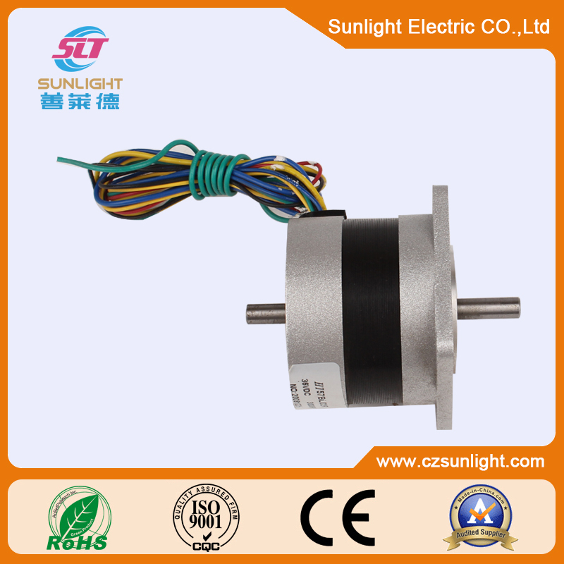 Double axles 36V brushlessc motor with 4000rpm