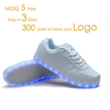 HC-AK31 Battery operated rechargeable running led light shoes for both kids and adult (EU 25-46)