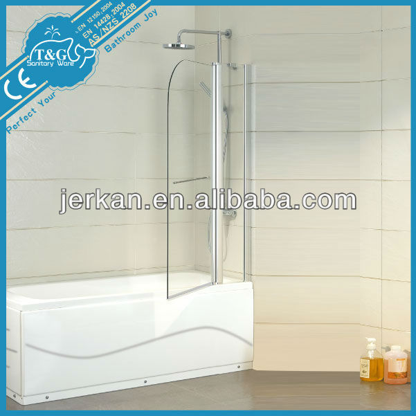 T&G bathtub shower enclosure