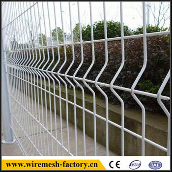 best quality curvy welded wire mesh fence panel