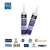 acetic silicone glass sealant GP