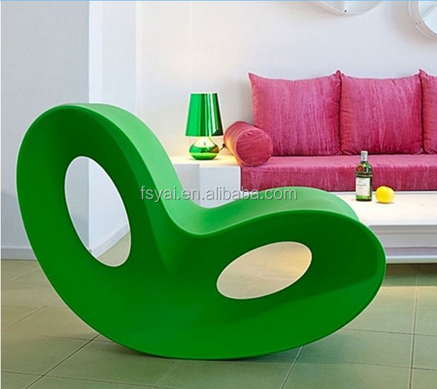 Leisure Replica living Voido Inspired Rocking Ron Arad Voido fiberglass Butterfly Chair