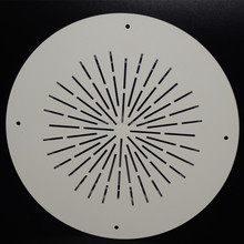 professional 6.5 inch plastic ceiling speaker whole cover