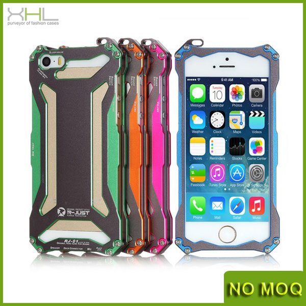 New brand aluminum screw metal bumper case for iphone 5 5s