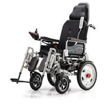 New Model High Quality Portable Lightweight Foldable Electric Wheelchair with Luxury Parts