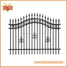 Decorative Wrought Iron Garden Metal Fence