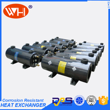 China Direct Factory titanium tube and shell heat exchanger for pool