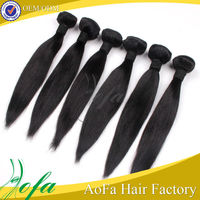 China factory wholesale cheap unprocessed real virgin aliexpress hair straight hair