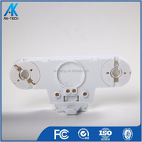 white fire retardant pc t8 fluorescent lamp holder bracket