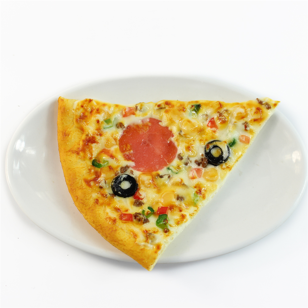 fake food artificial pizza for window display props