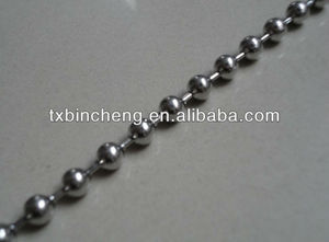fashion stainless steel ball chain