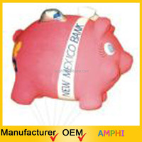 2015 hot sale pvc helium advertising balloon/ inflatable flying pig for sale