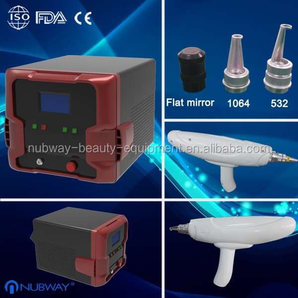 Hottest factory price!! laser tattoo removal q switched keyword:nd yag laser