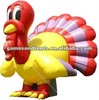 2012 best price inflatable turkey balloon advertising F1027