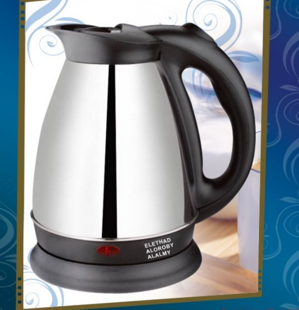 1.8L wire Electric Kettle Stainless Steel/Factory automatic water pot/ kettle AN-201BE