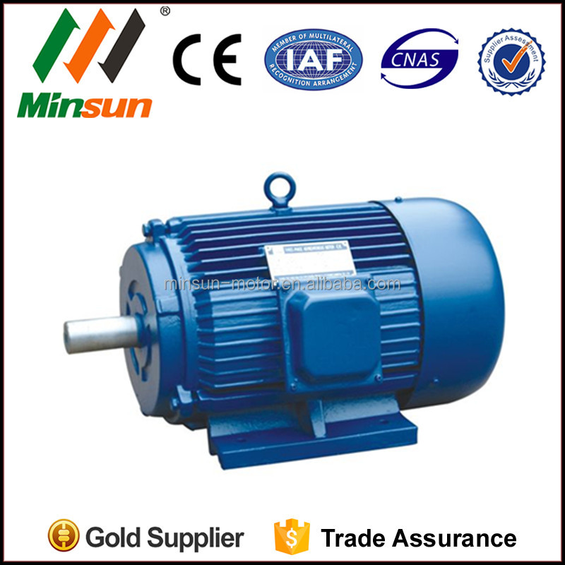 Y Series spindle motor high torque low rpm electric motor