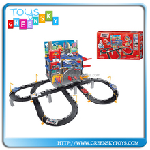 New Products Toy For Christmas Rail Toy Car, Space Rail Slot Car,Diy Parking Lot For Racing Toys
