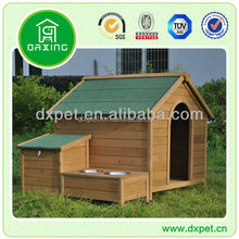 Peaked Roof Timber Dog Kennel
