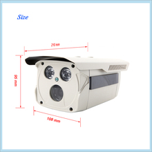 High quality 2MP IP Camera 1080P CCTV Network Camera with WDR Low Stream Function