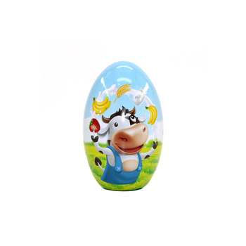Decorated Chocolate Packaging Tradition Easter Eggs Tinplate Material Festival Use