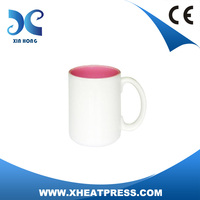 2014 Magic colorful ceramic Mug for Sublimation11oz at low price
