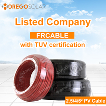 100m/roll pv solar cable 2.5mm,4mm,6mm with good quality