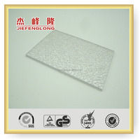 Translucent Diamond Polycarbonate Embossed Sheet PC Sheet