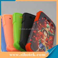 2 in 1 3D sublimation blank phone cover case for Samsung Galaxy S3 9300