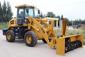 Snow Removal wheel loader, snow blower wheel loader for sale