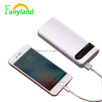 2017 Promotional universal portable power bank,Mobile Power Banks support customize External Battery power bank 10000mah