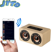 portable wireless speaker bluetooth mini pc computer wooden speakers