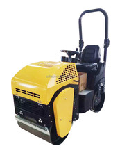 HaoHong 1Ton full hydraulic vibratory self-propelled road roller for sale