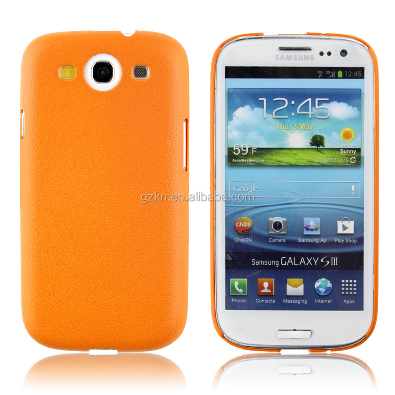 Slim Transparent Back Matte Case Cover For SAMSUNG GALAXY S3 i9300
