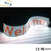 Flexible Pitch 7.62mm LED Moving Message Sign with Full Color