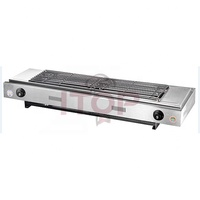 Stainless Steel Gas Smokeless barbecue Oven Gas BBQ Grills Barbecue Grill for Commercial Use