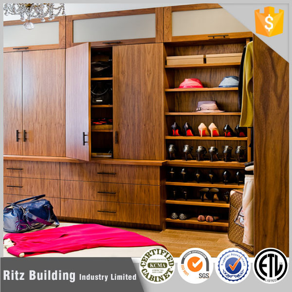 Furniture product wooden wardrobe various design bedroom wall cabinet