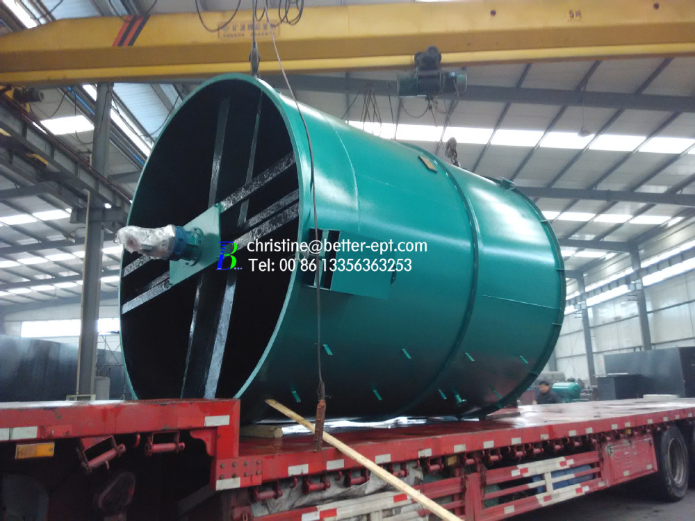 Circular Radical Flow Type DAF Dissolved Air Flotation Machine
