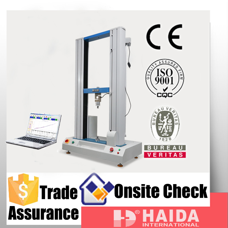 New universal fabric tensile strength tester